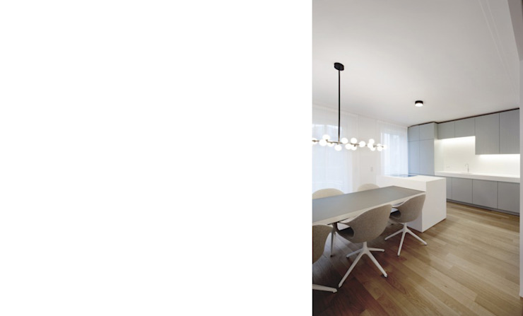 Cocinas modernas: Ideas, imágenes y decoración de FISCHER & PARTNER lichtdesign. planung. realisierung Moderno