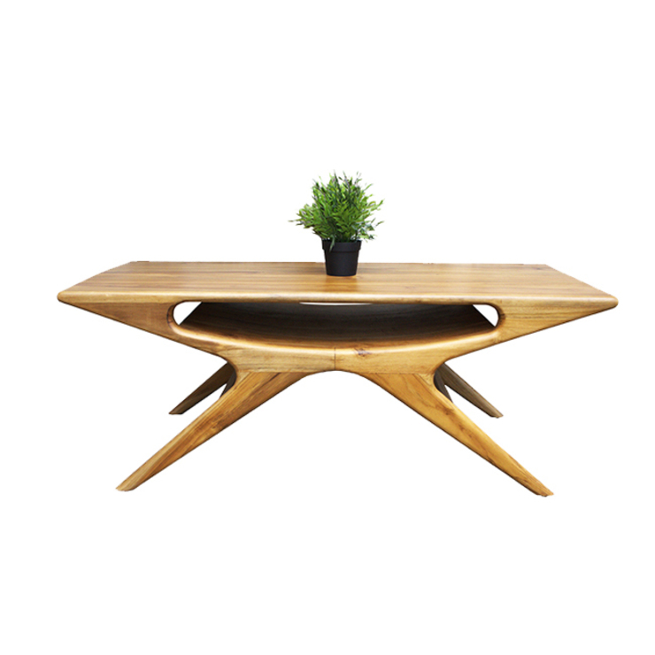 viku Living roomSide tables & trays Wood Brown