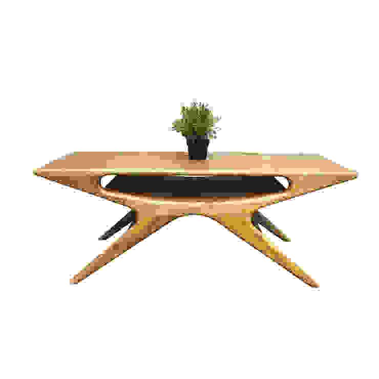 Elias coffee table Oleh viku Skandinavia Kayu Wood effect