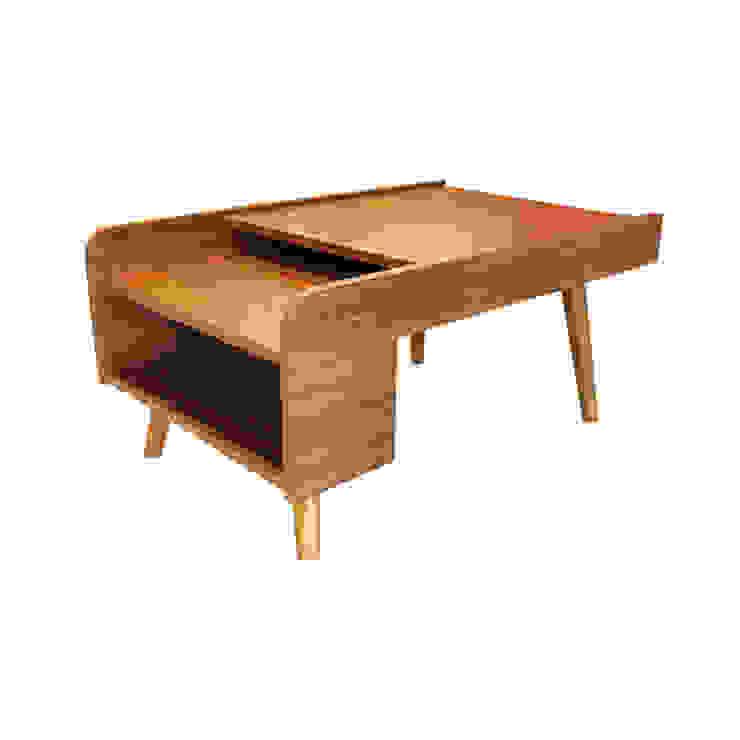 nichole coffee table Oleh viku Skandinavia Kayu Wood effect