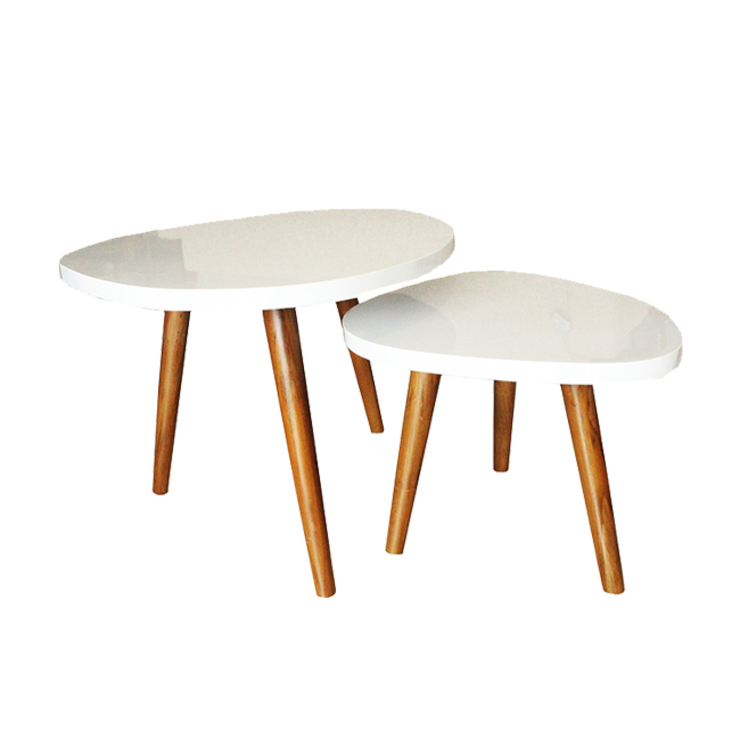 viku Living roomSide tables & trays Plywood White