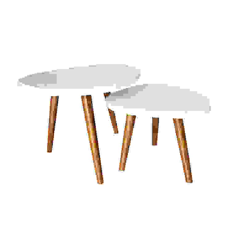 Ouvo Coffee table Oleh viku Skandinavia Kayu Lapis