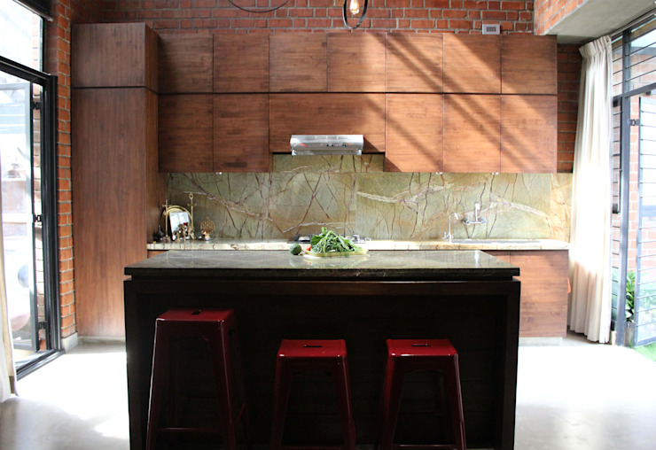 House for a Mother Modern kitchen by Studio4a Modern