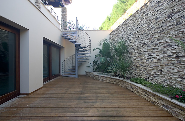 Idearte Marta Montoya Balcon, Veranda & Terrasse coloniaux