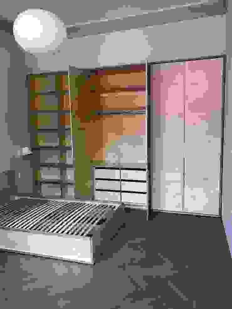Мебельная компания FunEra. Изготовление мебели из фанеры на заказ. http://www.fun-era.ruが手掛けたミニマリスト, ミニマル 合板(ベニヤ板)
