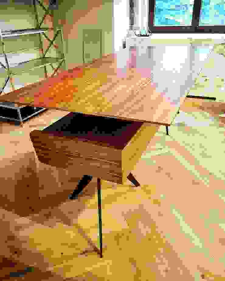 Мебельная компания FunEra. Изготовление мебели из фанеры на заказ. http://www.fun-era.ruが手掛けた工業用, インダストリアル 木 木目調