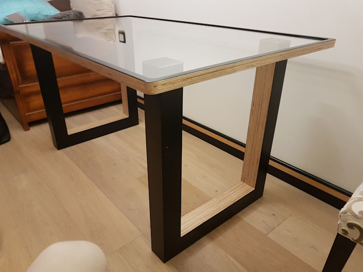 Мебельная компания FunEra. Изготовление мебели из фанеры на заказ. http://www.fun-era.ruが手掛けた工業用, インダストリアル 合板(ベニヤ板)