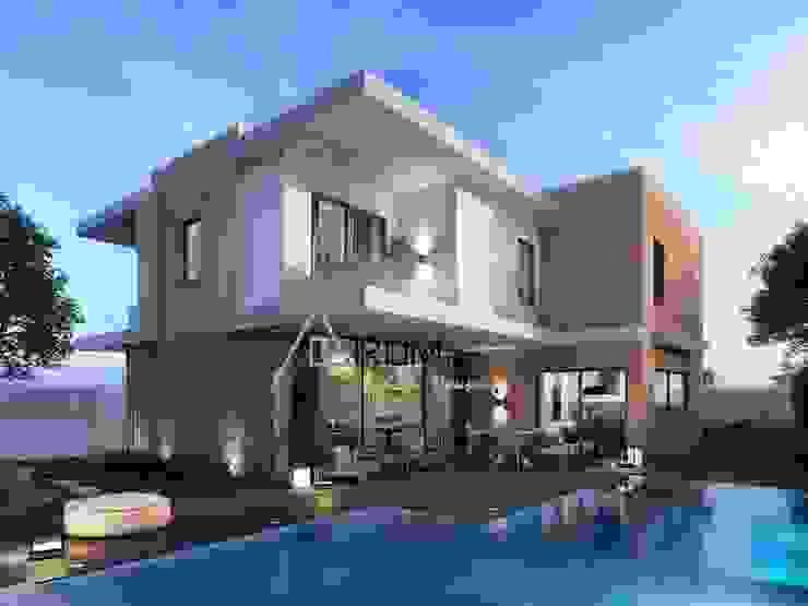 Modern houses by Atrium Projetos e Construção Modern
