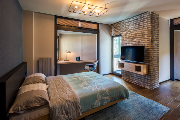 Спальня в стиле модерн от Slash Architects Модерн