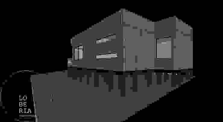 Diseño de Cabaña Sewell por Lobería Arquitectura de Loberia Arquitectura Mediterráneo