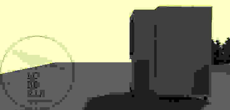 Diseño de Cabaña Monardes por Lobería Arquitectura: Casas unifamiliares de estilo  por Loberia Arquitectura,