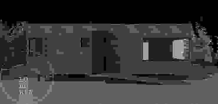 Diseño de Casa 63 por Lobería Arquitectura: Casas unifamiliares de estilo  por Loberia Arquitectura,