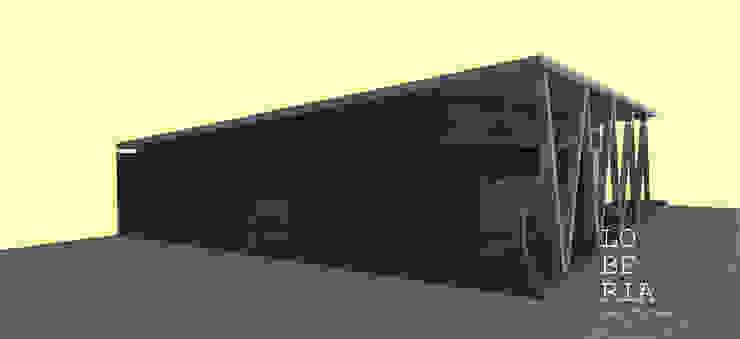 Diseño de Casa 93 por Lobería Arquitectura de Loberia Arquitectura Mediterráneo