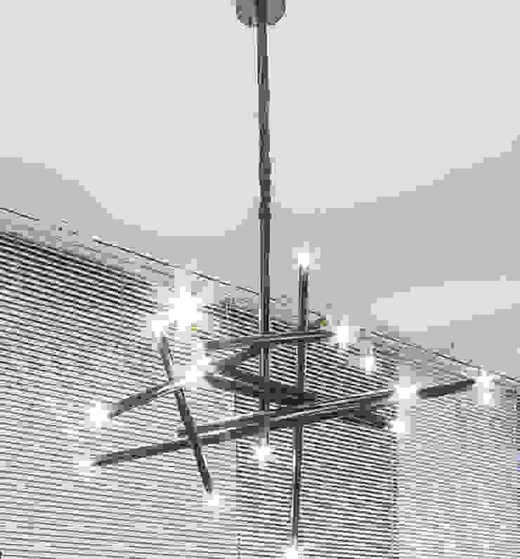 de Sgabello Interiores Moderno Metal