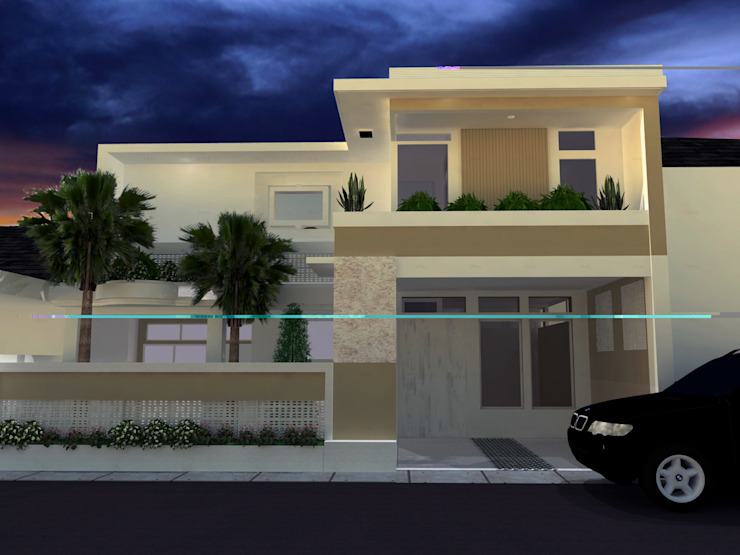 Vertical Accelerate Oleh Code ArchitecTeam Studio Modern Batu Bata