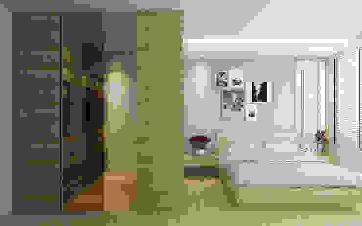 Master bedroom Scandinavian style bedroom by Singapore Carpentry Interior Design Pte Ltd Scandinavian