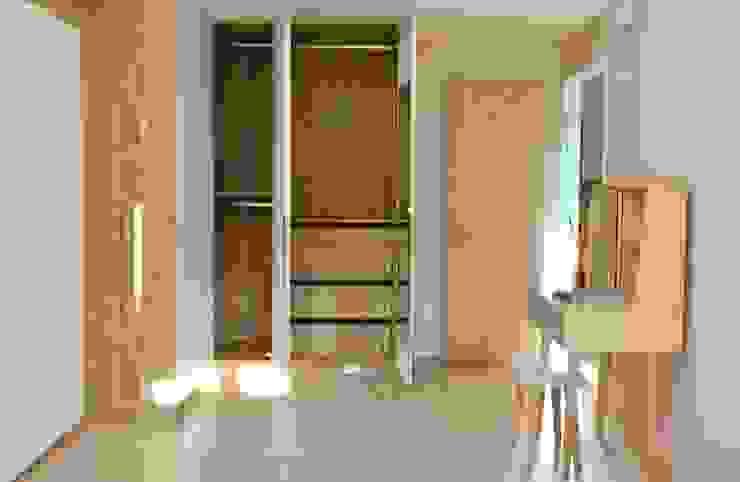 溫暖舒服的臥室 根據 圓方空間設計 北歐風 合板