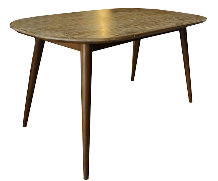 DINING TABLE Oleh viku Skandinavia Kayu Wood effect