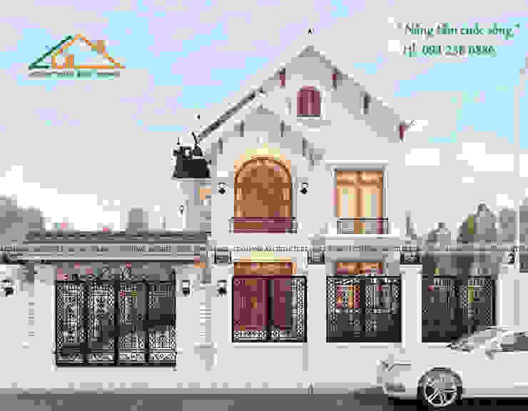 BIỆT THỰ TÂN CỔ ĐIẺN bởi Công ty CP kiến trúc và xây dựng Eco Home