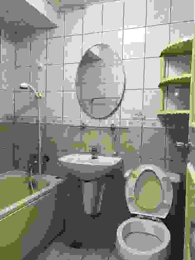 衛浴施工前照片: 斯堪的納維亞  by 圓方空間設計, 北歐風