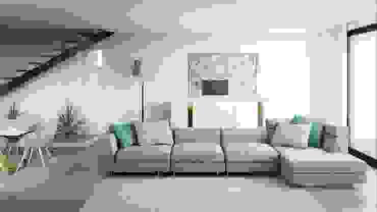 Sala de estar Salas de estar modernas por Alma Braguesa Furniture Moderno Metal
