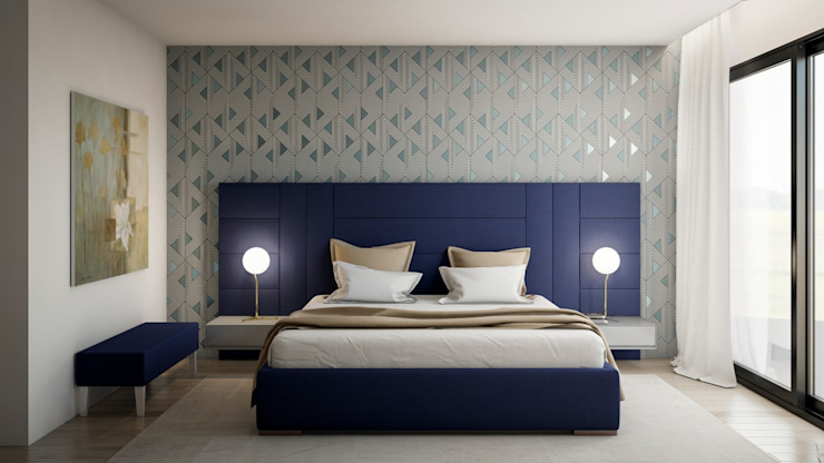 Modern style bedroom by Alma Braguesa Furniture Modern MDF