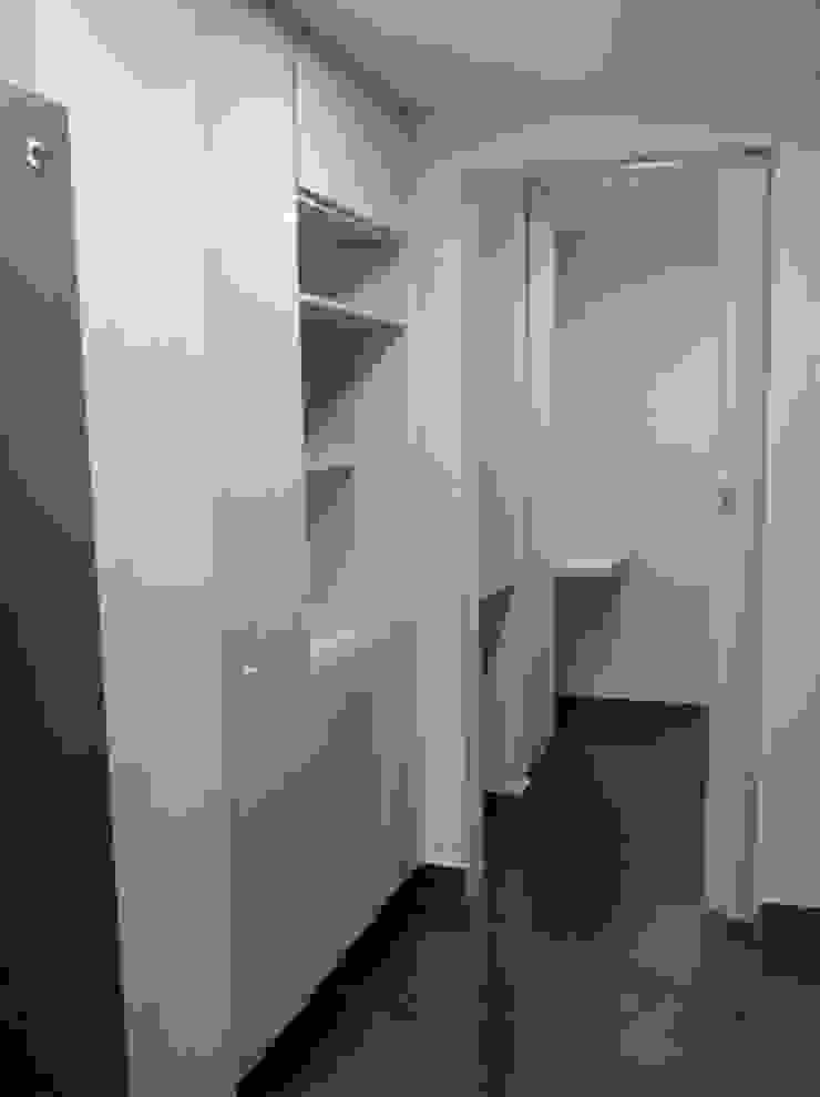 Instalación mueble alacena en poliuretano de Cambia Tu Nido Moderno