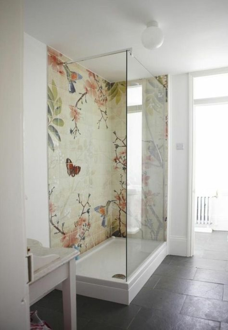 Washroom luxury Country style bathroom by Jasmine Interior Designs Country Marble