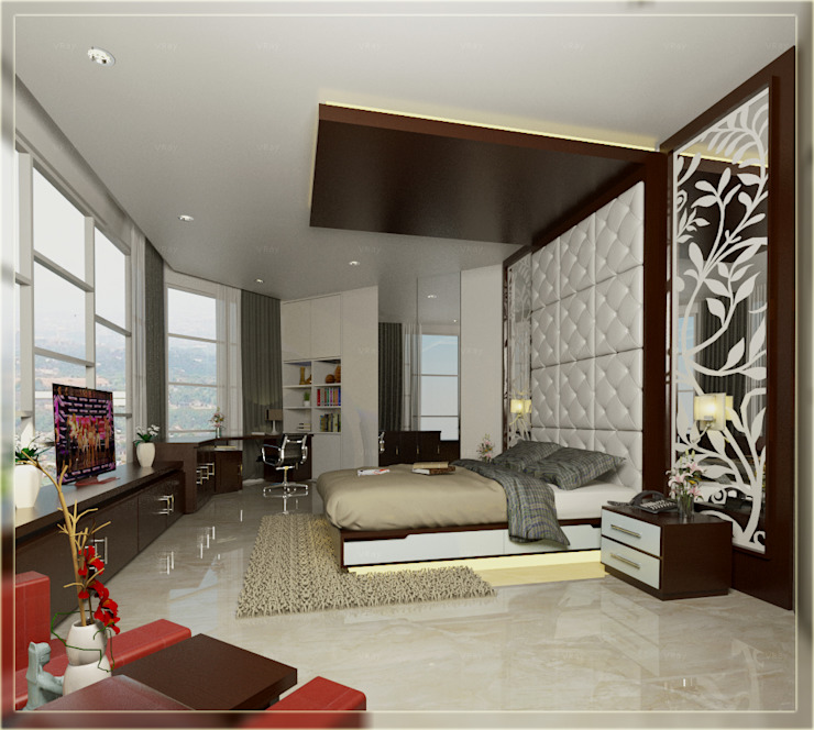 BEDROOM 01:  oleh Arsitekpedia,