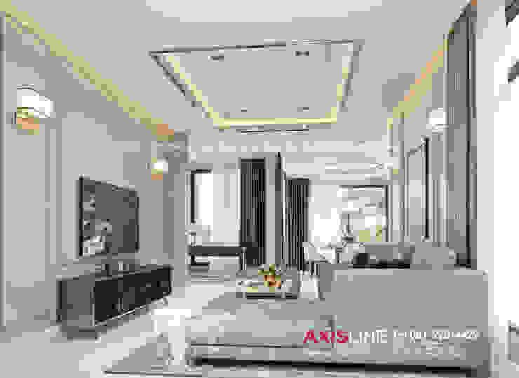 Living room (ห้องนั่งเล่น): ทันสมัย  โดย บริษัทแอคซิสลาย จำกัด, โมเดิร์น