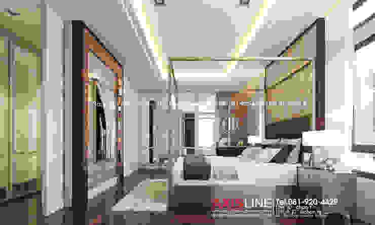 Master bedroom (ห้องนอนใหญ่): ทันสมัย  โดย บริษัทแอคซิสลาย จำกัด, โมเดิร์น