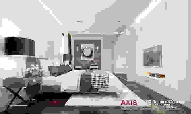 Bedroom (ห้องนอนเล็ก): ทันสมัย  โดย บริษัทแอคซิสลาย จำกัด, โมเดิร์น