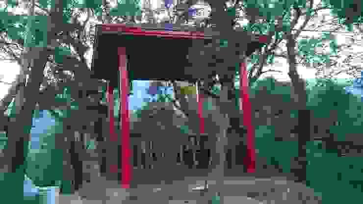 木涼亭 根據 茂林樓梯扶手地板工程團隊 日式風、東方風