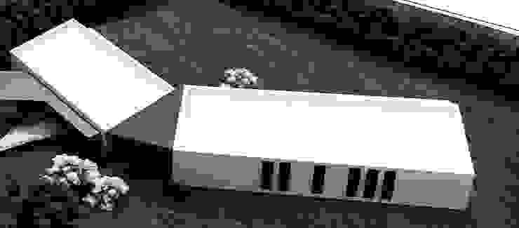 by Andrés Hincapíe Arquitectos A H A Мінімалістичний