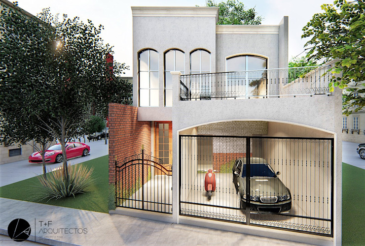 Casas modernas por T+F Arquitectos Moderno