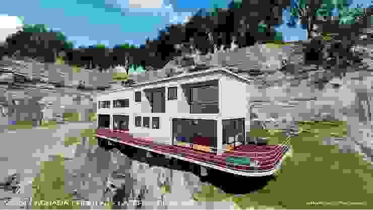 Casa Unifamiliar Envigado - Antioquia de RR Arquitecto