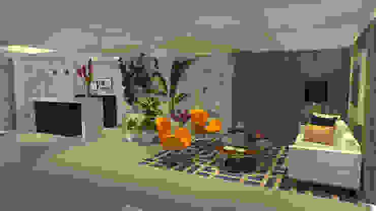 Sala Recepción de ARKLINE S A S Moderno