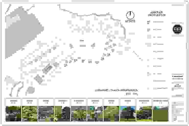 Paisajismo Gran Reserva, Medellin - Antioquia de RR Arquitecto