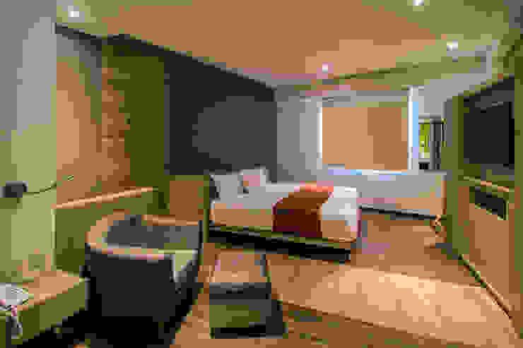 DIN Interiorismo Modern style bedroom