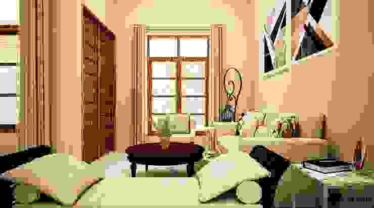 Ruang Tamu - Entrance Ruang Keluarga Gaya Eklektik Oleh Vaastu Arsitektur Studio Eklektik