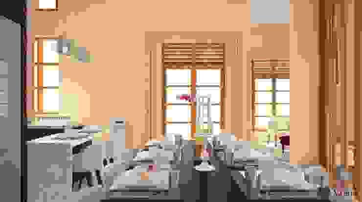 Dining Room - Ruang Makan Ruang Makan Modern Oleh Vaastu Arsitektur Studio Modern