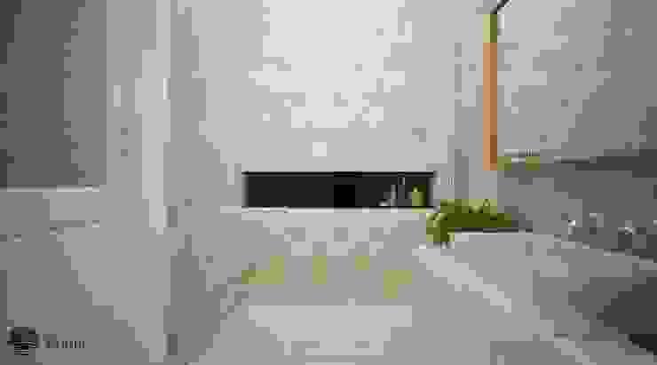 Baños de estilo minimalista de Vaastu Arsitektur Studio Minimalista