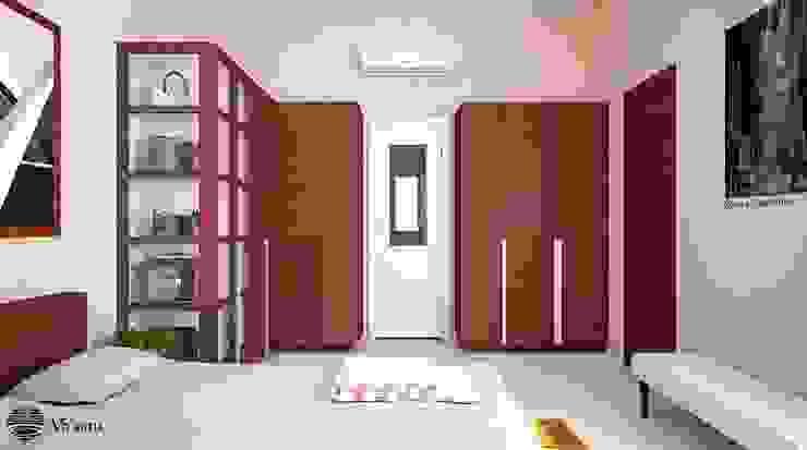 Kamar Tidur Utama Kamar Tidur Minimalis Oleh Vaastu Arsitektur Studio Minimalis