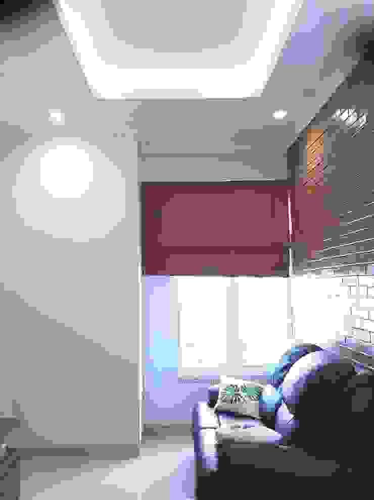 Ruang TV Ruang Keluarga Gaya Eklektik Oleh Vaastu Arsitektur Studio Eklektik
