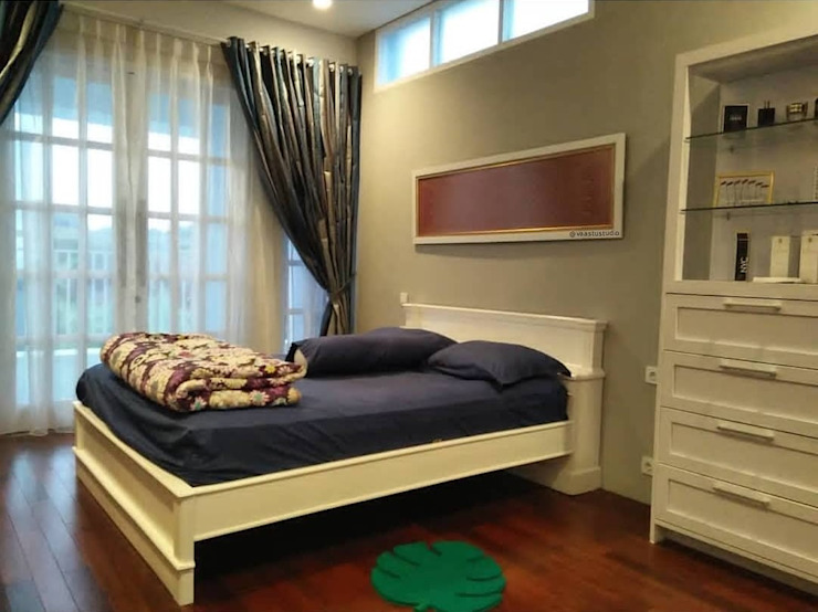 Kamar Tidur Utama Kamar Tidur Modern Oleh Vaastu Arsitektur Studio Modern