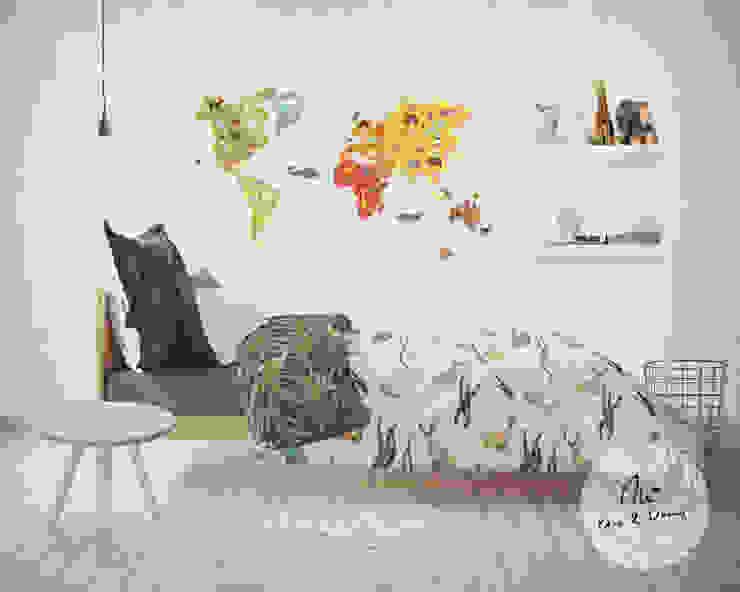 simulação de aplicação do padrão/estampa no produto final por Tânia Margarido Art & Design