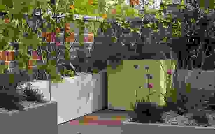 Modern roof garden MyLandscapes Garden Design Atap