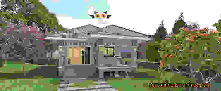 Nhà gia đình by แบบบ้านออกแบบบ้านเชียงใหม่