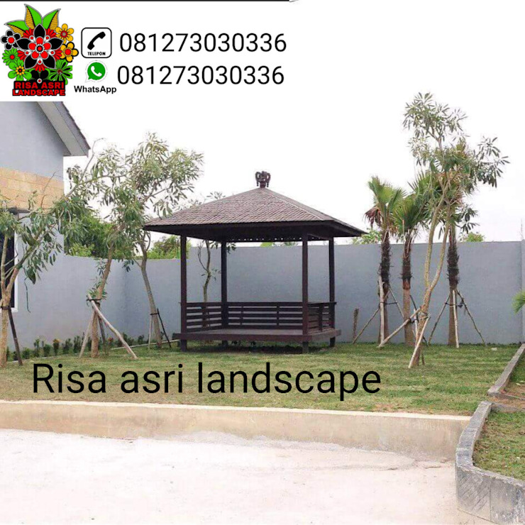 Minimalist commercial spaces by Risa Asri Landscape Minimalist