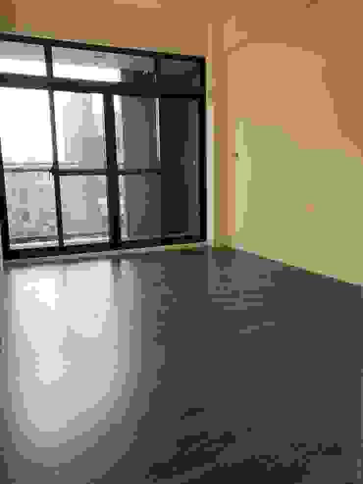 木質地板的臥房 根據 讚基營造有限公司 現代風